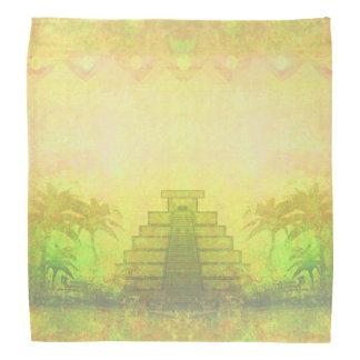 Mayan Pyramid, Mexico bandana