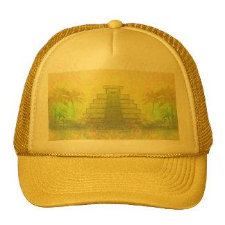 Mayan Pyramid, Mexico Hat