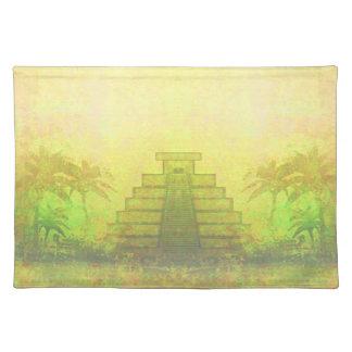 Mayan Pyramid, Mexico Place mats