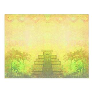 Mayan Pyramid, Mexico Postcard