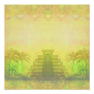 Mayan Pyramid, Mexico Poster