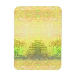 Mayan Pyramid, Mexico Premium Flexi Magnet