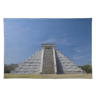 Mayan Pyramid, Morning in March Cloth Placemat