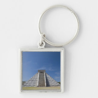 Mayan Pyramid, Morning in March Key Chains
