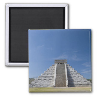 Mayan Pyramid, Morning in March Magnet