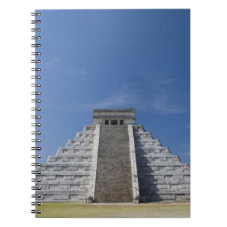Mayan Pyramid, Morning in March Spiral Note Book