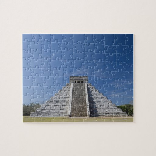 Mayan Pyramid, Morning in March Puzzle