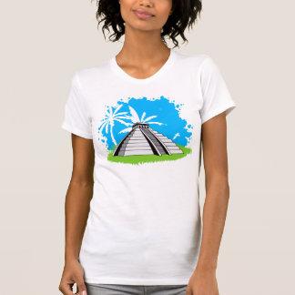Mayan pyramid tank top