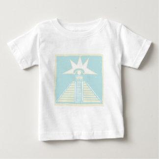 Mayan Pyramid with Venus Eye Glyph T-shirt