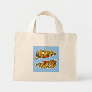 Mayan Rabbit Symbol Mini Tote Bag