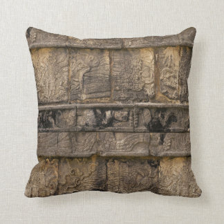 Mayan Relief Throw Pillow