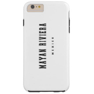 Mayan Riviera Mexico Tough iPhone 6 Plus Case