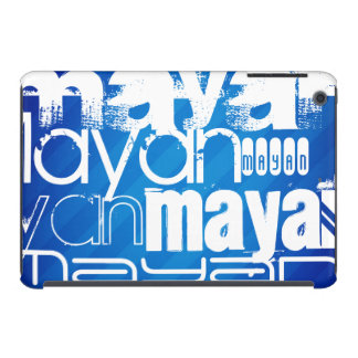 Mayan; Royal Blue Stripes iPad Mini Retina Cover