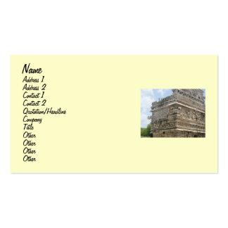 Mayan Ruin Business Card