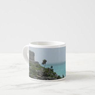 Mayan Ruin Espresso Mug