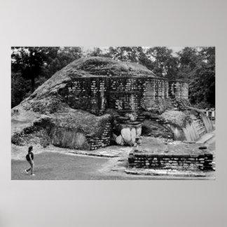 Mayan Ruin, Guatemala Poster