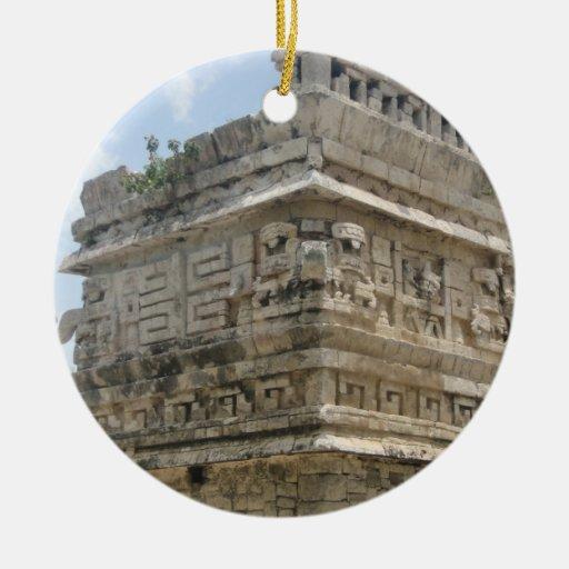 Mayan Ruin Ornament
