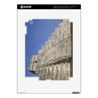 Mayan ruins at Chichen Itza, Kukulcans Pyramid iPad 3 Decal