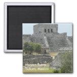 Mayan Ruins at Tulum, Mexico Magnet