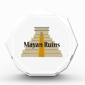 Mayan Ruins Award
