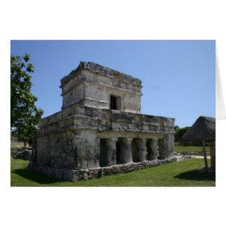 Mayan Ruins - Blank Greeting Card