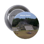 Mayan Ruins Buttons