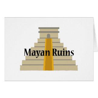 Mayan Ruins Card