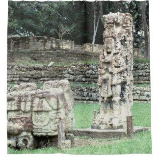 Mayan Ruins Copan Honduras Classy Bathroom Shower Curtain