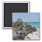 Mayan Ruins in Tulum Mexico Magnet