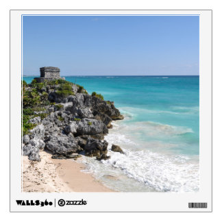 Mayan Ruins in Tulum Mexico Wall Sticker