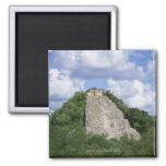 Mayan ruins of Coba, Yucatan peninsula, Mexico 2 Inch Square Magnet