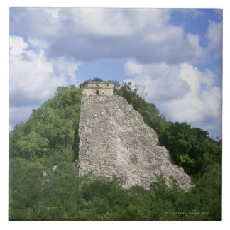 Mayan ruins of Coba, Yucatan peninsula, Mexico Ceramic Tile