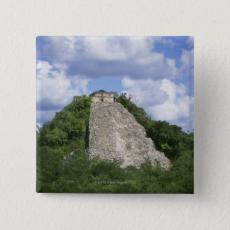 Mayan ruins of Coba, Yucatan peninsula, Mexico Pinback Button
