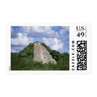 Mayan ruins of Coba, Yucatan peninsula, Mexico Postage Stamp