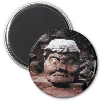 Mayan ruins of Copan - Honduras 2 Inch Round Magnet