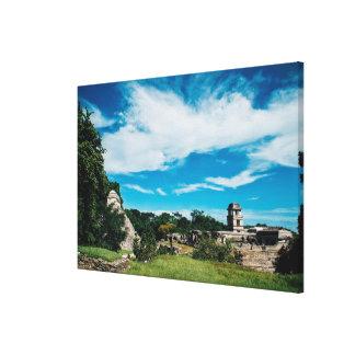 Mayan Ruins Of Palenque Canvas Print