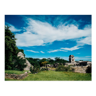 Mayan Ruins Of Palenque Postcard