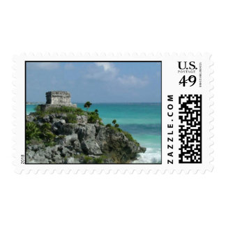 Mayan Ruins Postage