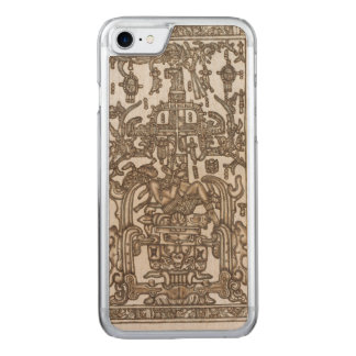 Mayan Ruler Pakal Kim Carved iPhone 7 Case