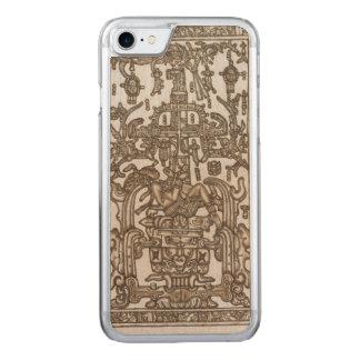 Mayan Ruler Pakal Kim Carved iPhone 8/7 Case