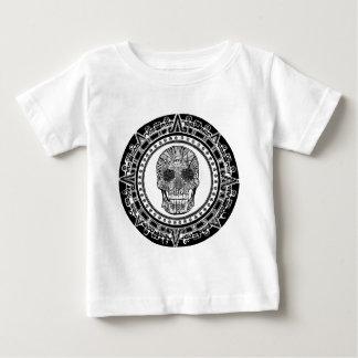 Mayan Skull Baby T-Shirt
