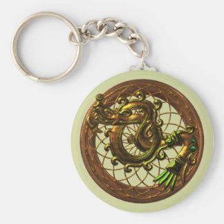Mayan Snake Keychain