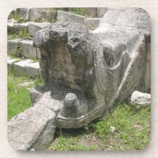 Mayan Snake Ruin Coasters