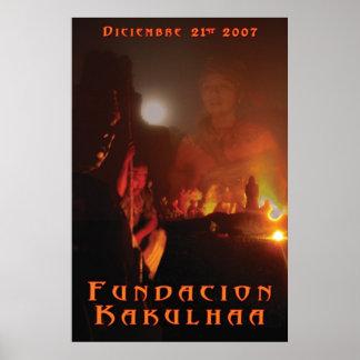 Mayan Solstice Poster