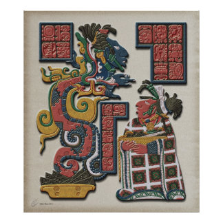 Mayan Spectre Poster