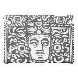 Mayan Stele Head iPad Mini Covers
