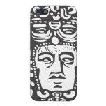 Mayan Stele Head iPhone 5 Cover