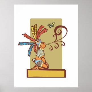 Mayan Storyteller Posters