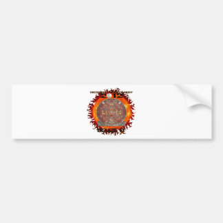 Mayan Sun Bumper Sticker