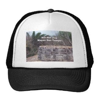 Mayan Sun Dial Mesh Hats